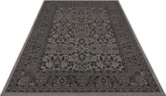 Teppich »Konya«, bougari, rechteckig, Höhe 4 mm, In- und Outdoor geeignet, Flachgewebe, Wohnzimmer