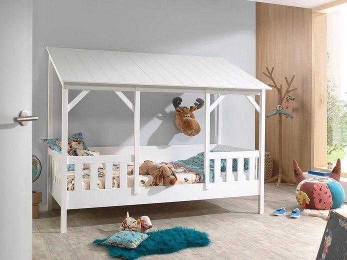Vipack Bett »Hausbett«, wahlweise mit Bettschubkasten