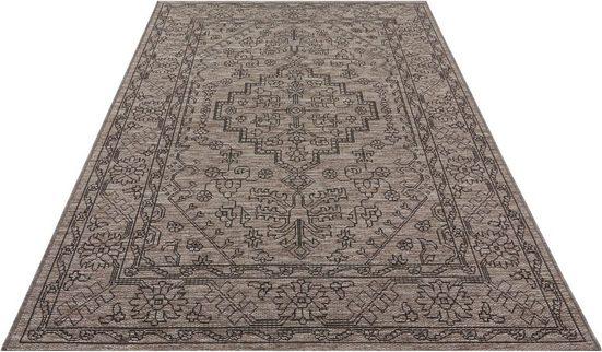 Teppich »Tyros«, bougari, rechteckig, Höhe 4 mm, In- und Outdoor geeignet, Flachgewebe