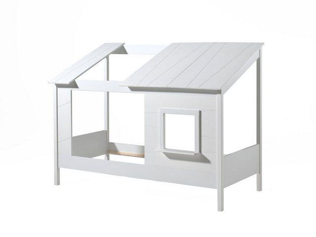 Vipack Bett »Hausbett«, wahlweise mit Bettschubkasten | Schlafzimmer > Betten > Hochbetten | Vipack