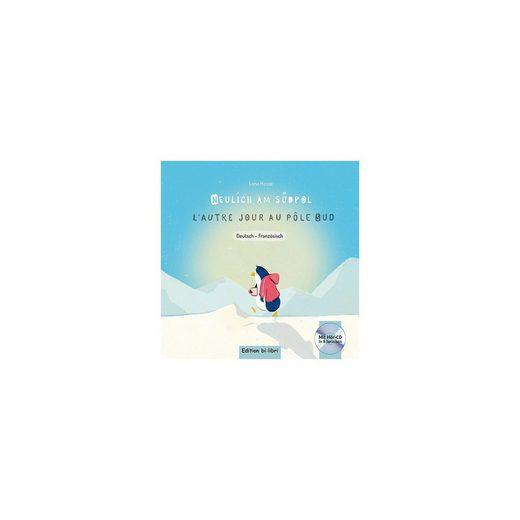 Hueber Verlag Neulich am Südpol, Deutsch-Französisch, mit Audio-CD