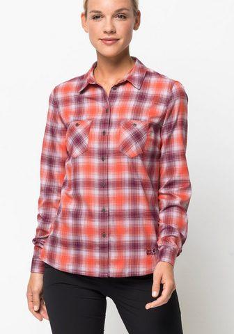 JACK WOLFSKIN Рубашка в клетку »SARU футболка ...