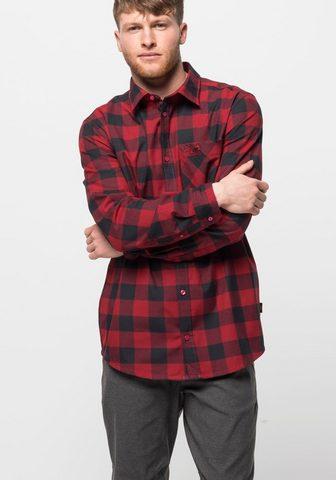 JACK WOLFSKIN Languoti marškiniai »RED RIVER SHIRT«