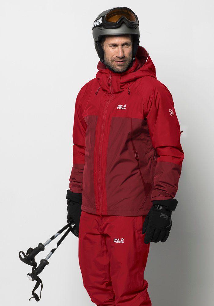 skijacke herren jack wolfskin powder mountain