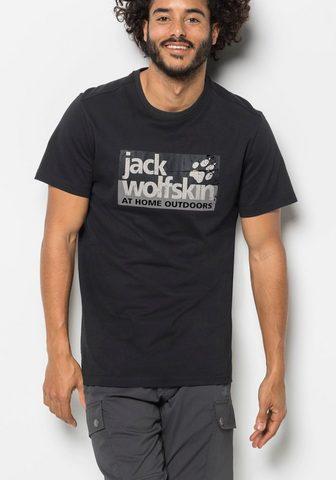 JACK WOLFSKIN Marškinėliai »LOGO T M«