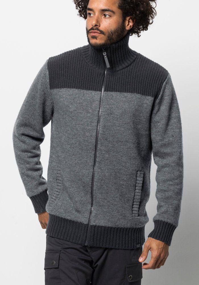 Strickfleecejacke Jacket »northwind Jack M« Online KaufenOtto Wolfskin kiOXuTlwPZ