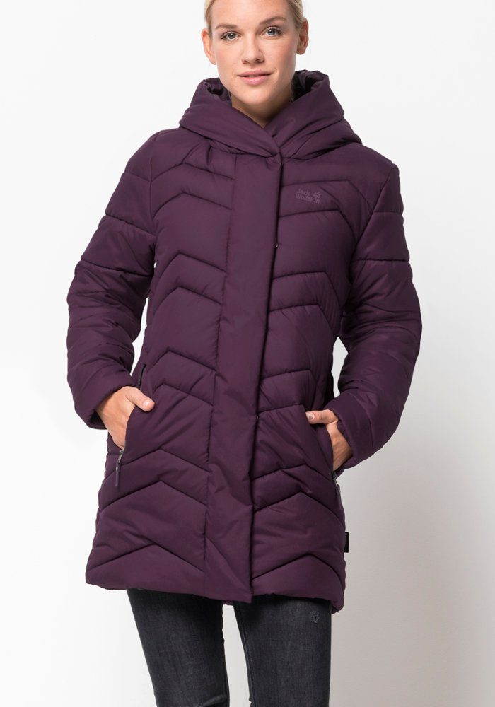 Mantel Wolfskin Jack Women's Kyoto Coat Midnight BlueXS 34ARjLq5