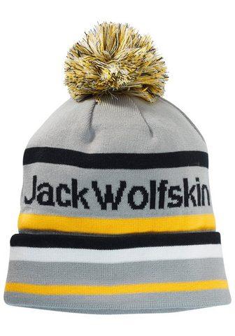 JACK WOLFSKIN Kepurė su bumbulu »PRIDE POMPOM Kepurė...