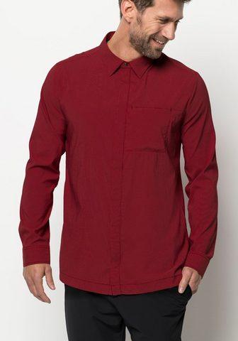 JACK WOLFSKIN Marškiniai »JWP LS Palaidinė M«