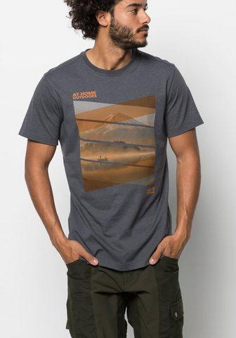 JACK WOLFSKIN Marškinėliai »MOTOSU LAKE T M«