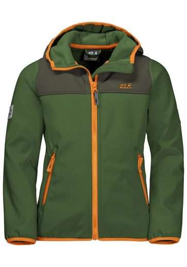 Jack Wolfskin Softshelljacke »FOURWINDS JACKET KIDS«