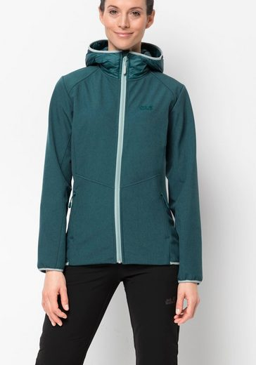 Jack Wolfskin Softshelljacke »SKY POINT HOODY W«