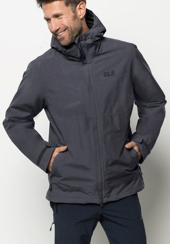 JACK WOLFSKIN Striukė 3in1 »SEELAND 3IN1 Sportinis b...