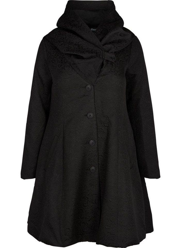 big sale 74f36 a307c Zizzi Outdoorjacke Damen Große Größen Mantel Jacke Kapuze Klassisch  Wintermantel online kaufen | OTTO