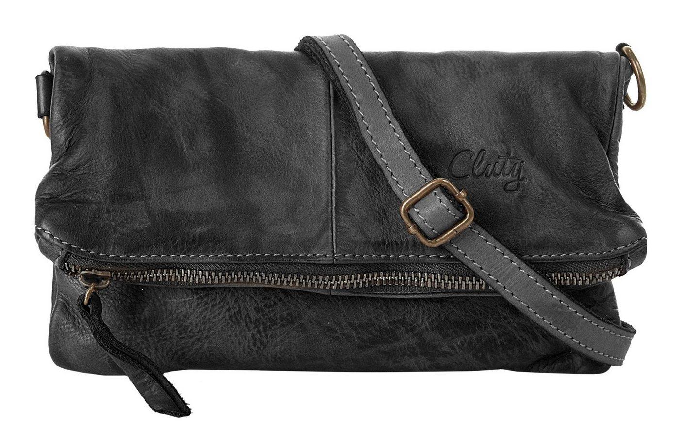 Cluty Abendtasche | Taschen > Handtaschen > Abendtaschen | Schwarz | Leder | Cluty
