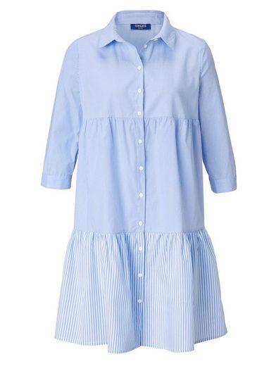 Conleys Blue Kleid mit Streifenmix