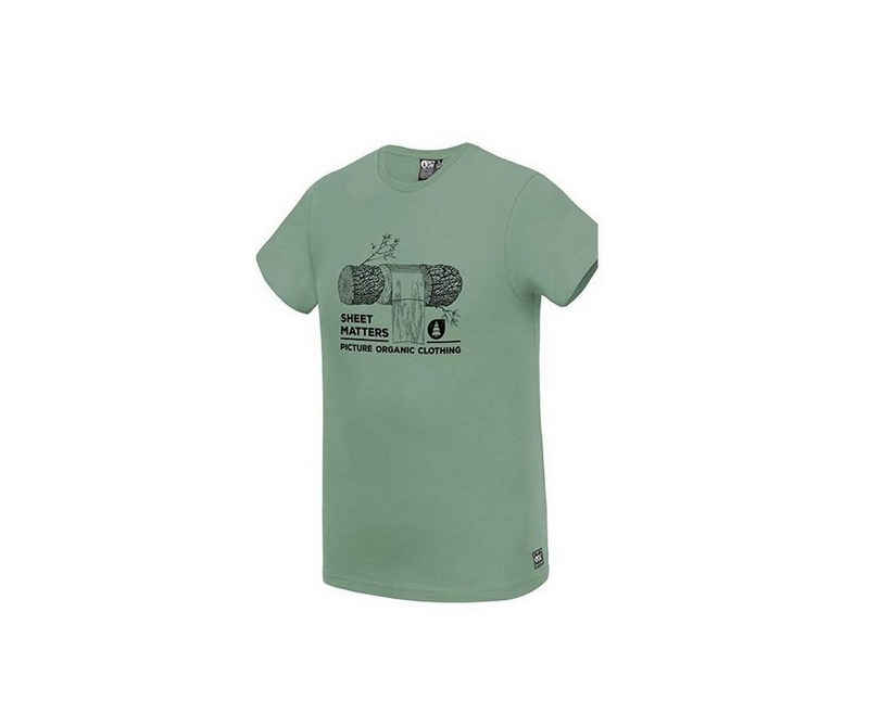 Picture T-Shirt »Picture Herren T-Shirt LOG TEE grün«