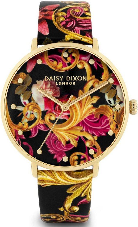 Damen DAISY DIXON Quarzuhr »KENDALL #3, DD124B« (Set, mit Clutch) inkl. Clutch bunt,  mehrfarbig | 05024693172757