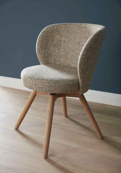 SCHÖNER WOHNEN-Kollektion Stuhl »Turn« (1 Stück), wahlweise mit oder ohne Drehfunktion