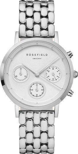 ROSEFIELD Chronograph »Gabby White Silver, NWG-N92«