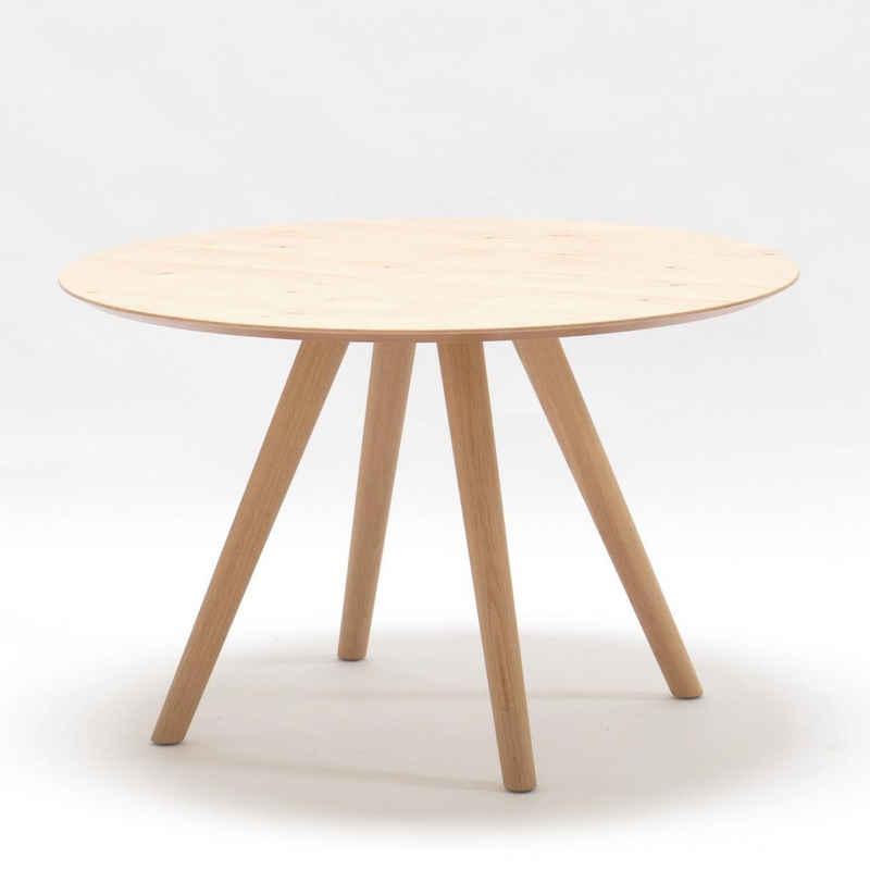 SCHÖNER WOHNEN-Kollektion Esstisch »ROUND«, wahlweise in Durchmesser 100 cm oder 120 cm erhältlich