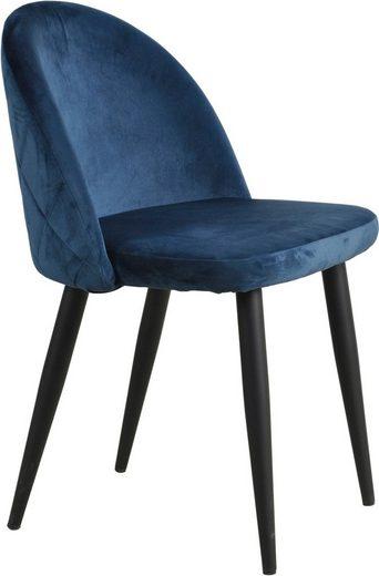 SIT Polsterstuhl »Sit&Chairs« aus weichem Samtvelours