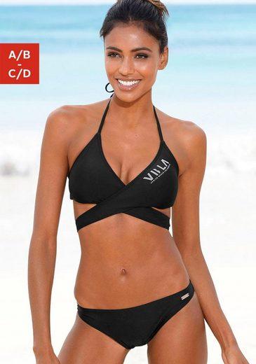Venice Beach Triangel-Bikini Top zum Wickeln