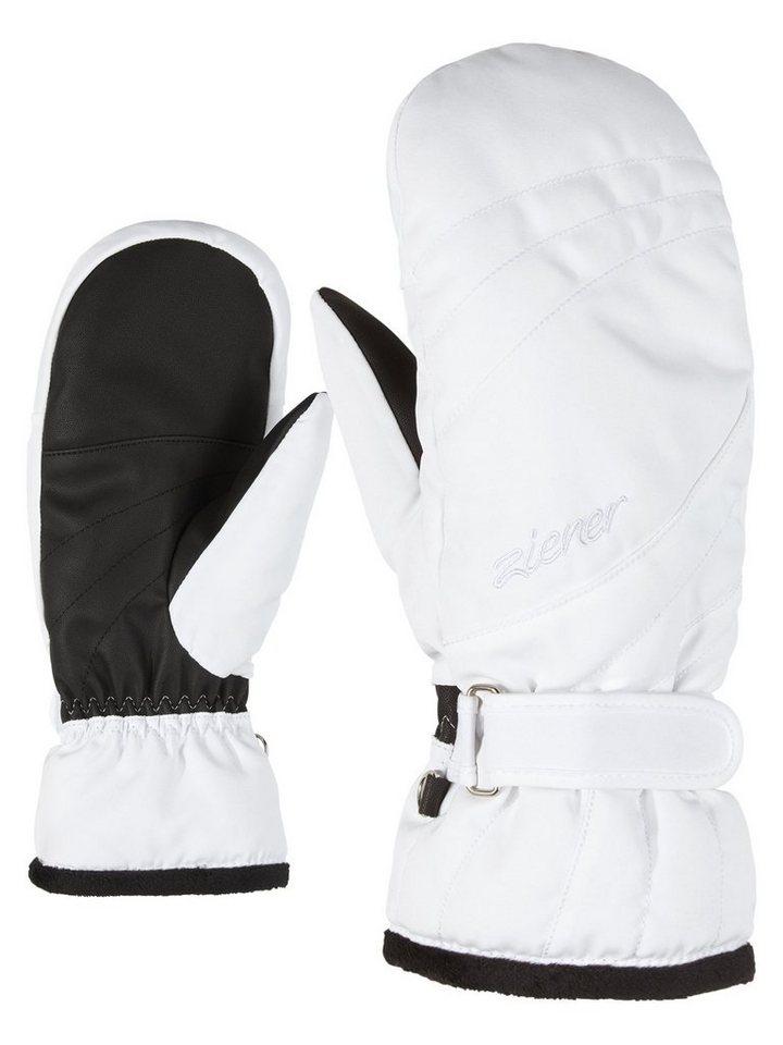 Ziener Fäustlinge »KILENIS PR MITTEN« | Accessoires > Handschuhe > Fäustlinge | Weiß | Ziener