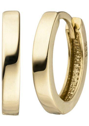 JOBO Paar Creolen, 333 Gold 12,5 mm