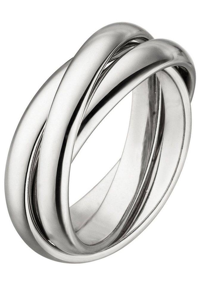Ring 54 56 58 60  2 Stück Fingerring Sterling Silber Silberring Ringe Stein