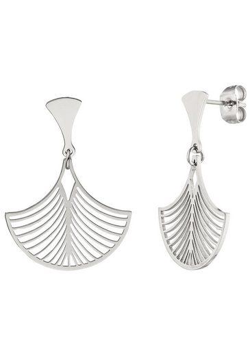 JOBO Paar Ohrhänger, aus Edelstahl