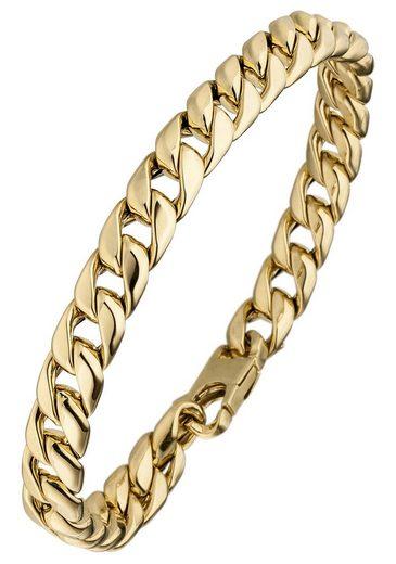 JOBO Armband, Panzerarmband 585 Gold 21 cm