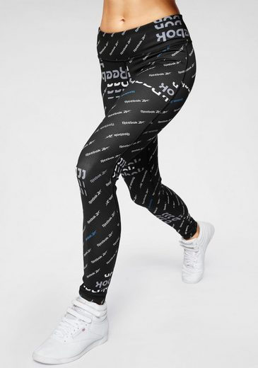 Reebok Funktionstights »WOR AOP Tight«