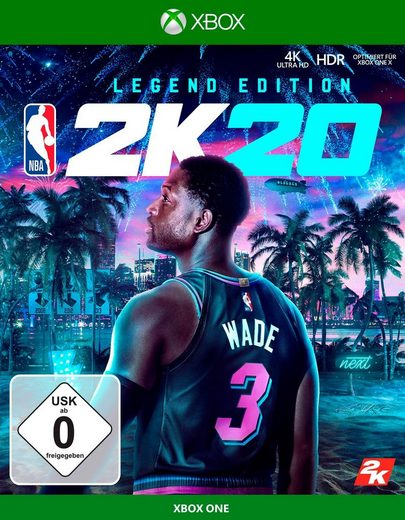 NBA 2K20 Legend Edit. Xbox One