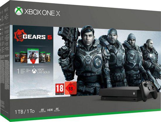 Xbox One X 1TB, inkl. Gears of War 5