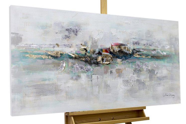 KUNSTLOFT Gemälde »Mirage«, handgemaltes Bild auf Leinwand