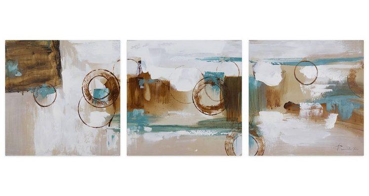 KUNSTLOFT Gemälde »Rätselhafte Aussicht«, handgemaltes Bild auf Leinwand