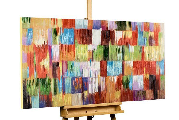 KUNSTLOFT Gemälde »Eine Hommage ans Leben«, handgemaltes Bild auf Leinwand