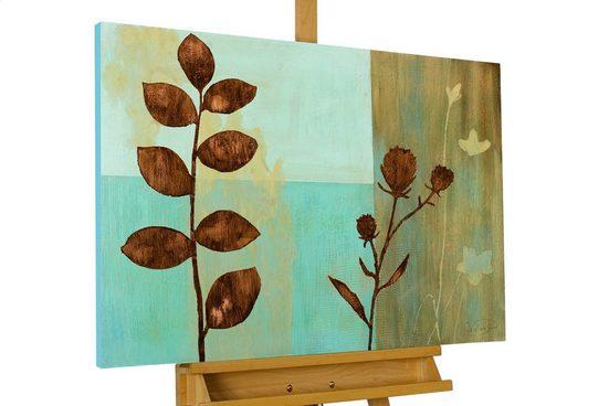 KUNSTLOFT Gemälde »Flowers Of Eternity«, handgemaltes Bild auf Leinwand