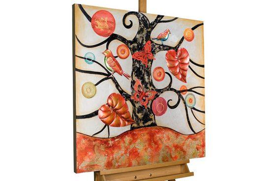 KUNSTLOFT Gemälde »Ohne Anfang und Ende«, handgemaltes Bild auf Leinwand
