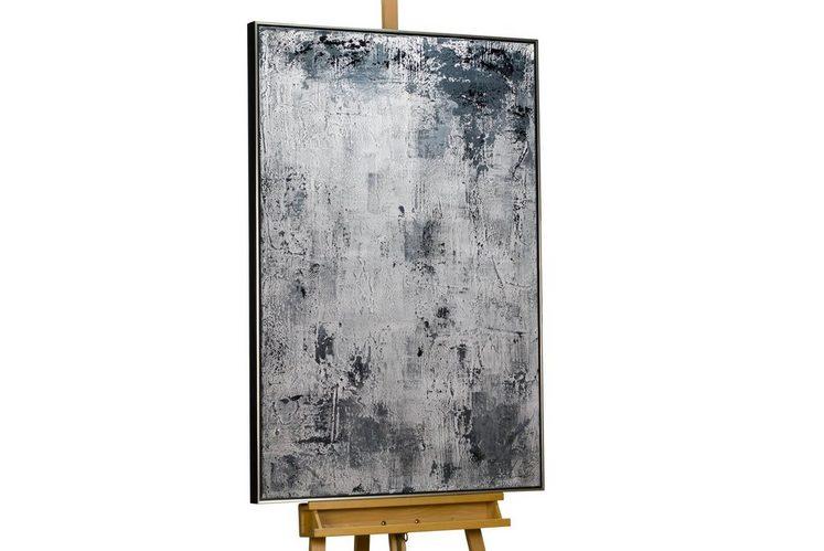 KUNSTLOFT Gemälde »Stonewashed«, handgemaltes Bild auf Leinwand