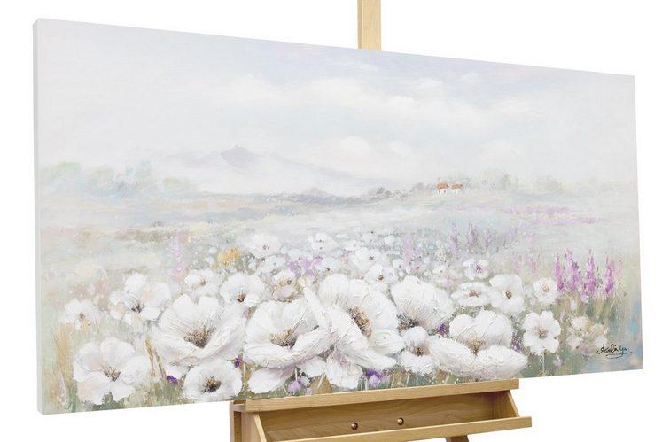 KUNSTLOFT Gemälde »Field of Scent«, handgemaltes Bild auf Leinwand