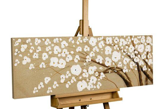 KUNSTLOFT Gemälde »Baum des Vertrauens«, handgemaltes Bild auf Leinwand