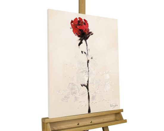 KUNSTLOFT Gemälde »Rendezvous mit Dir«, handgemaltes Bild auf Leinwand