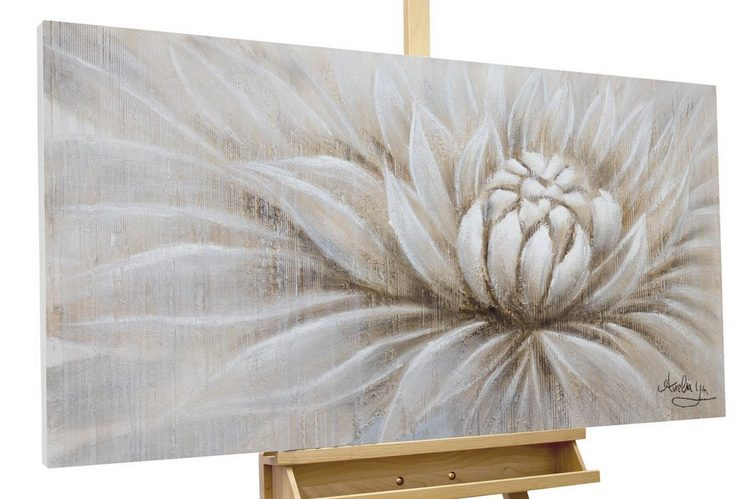 KUNSTLOFT Gemälde »Expanding«, handgemaltes Bild auf Leinwand