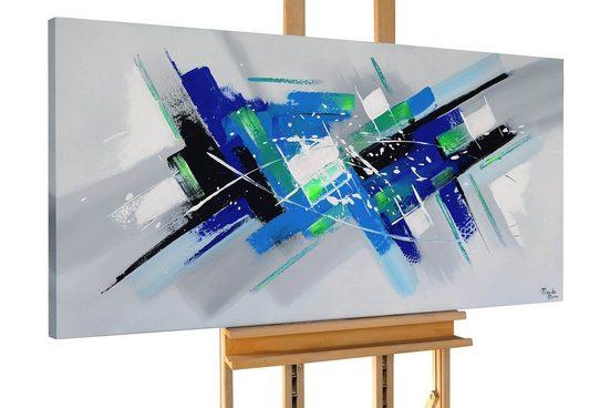 KUNSTLOFT Gemälde »Drift Apart«, handgemaltes Bild auf Leinwand