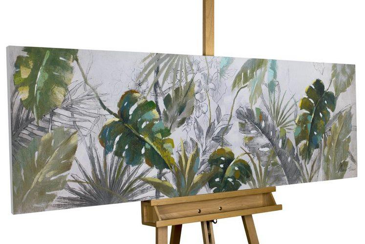 KUNSTLOFT Gemälde »Wildlife«, handgemaltes Bild auf Leinwand