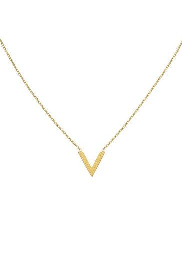 JOBO Collier, Edelstahl goldfarben beschichtet 45 cm