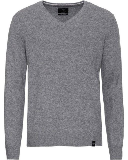 COMMANDER V-Pullover aus Cashmere | Bekleidung > Pullover > V-Pullover | Commander
