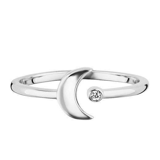 CAÏ Ring »cai - Damen-Ring 925/- Sterling Silber rhodiniert«